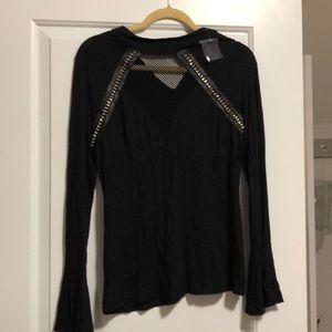 Venus blouse black lg new
